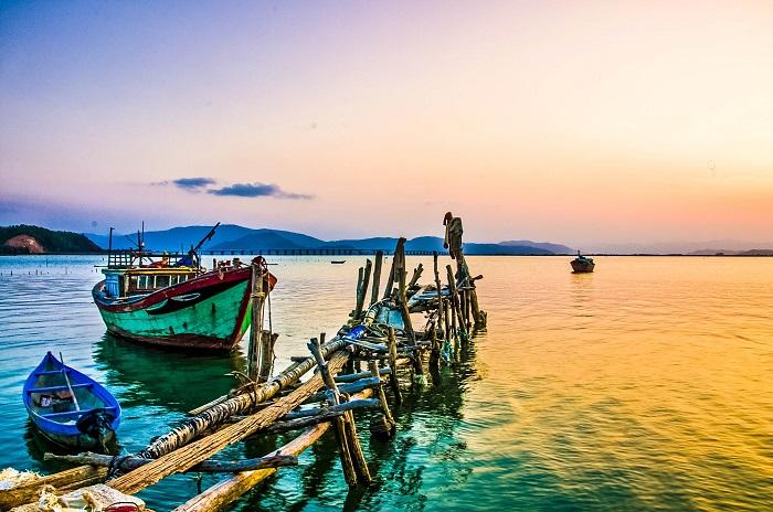 Cảnh biển Qui Nhơn