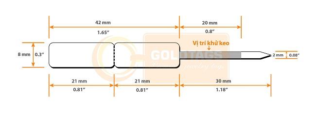 Goldtags GT0821