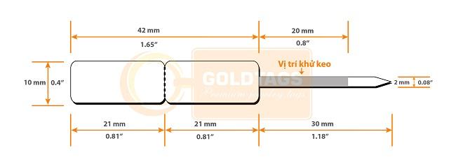 tem nữ trang cao cấp Goldtags GT1021
