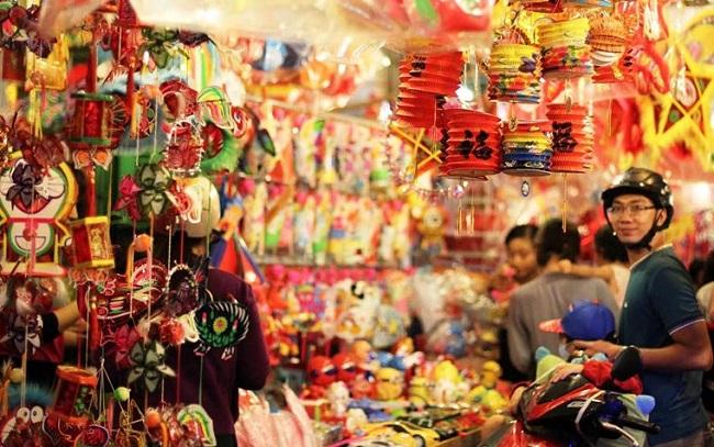 Phồ lồng đèn tại Sài Gòn