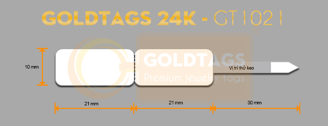Tem Goldtags 24K - GT1021