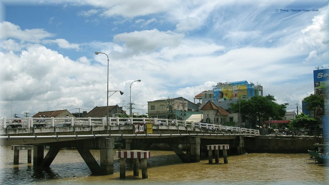 Cầu Quay - thành phố Mỹ Tho