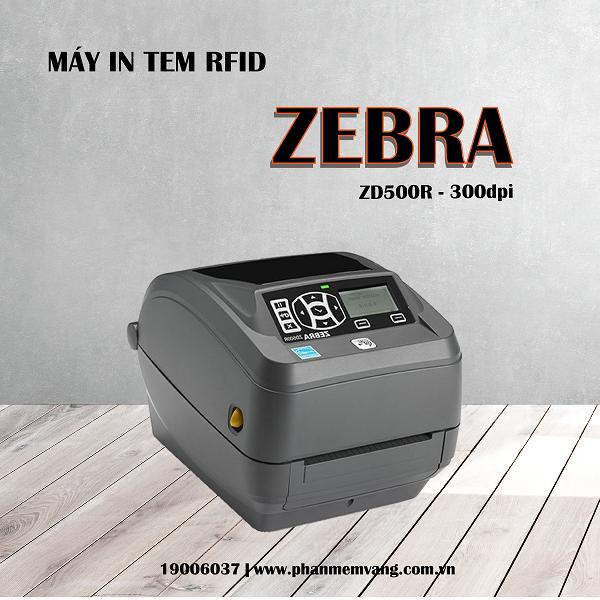 Máy in tem RFID - Zebra ZD500R