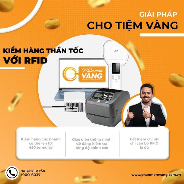 Kiểm hàng thần tốc với tem từ RFID