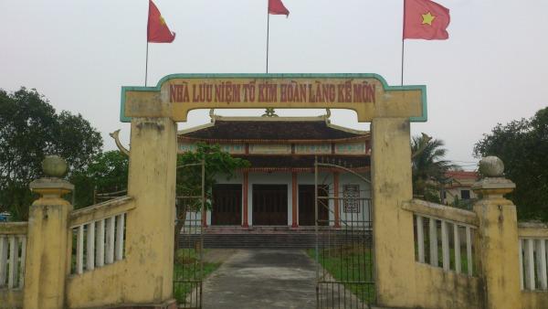 Nhà thờ tổ nghề kim hoàn tại làng Kế Môn