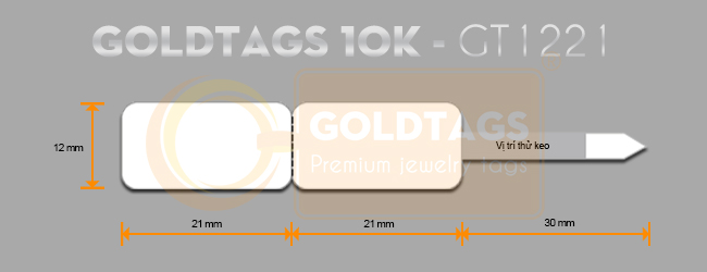Tem nữ trang Goldtags 10K